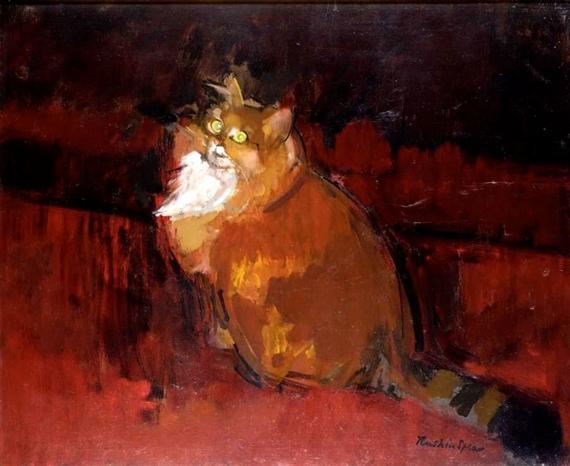 Ruskin Spears, Orange Cat