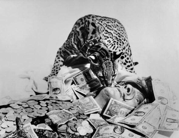 Babou and Salvador Dali, 1965