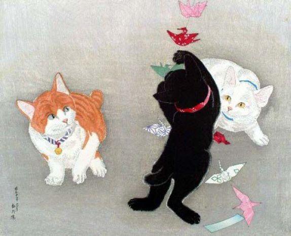 Hiroaki Takahashi Shotei, Kittens 1935