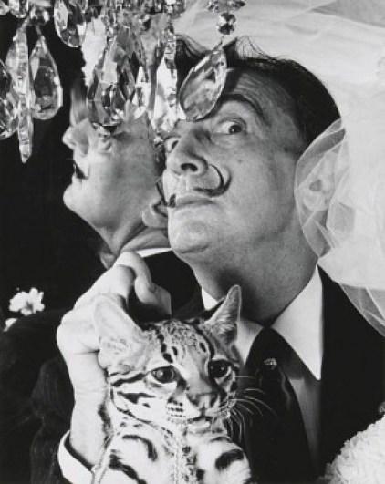 Salvador Dali and Babou