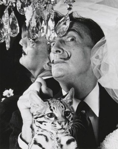 Salvador Dali (1904-1989, Spanish) - The Great Cat