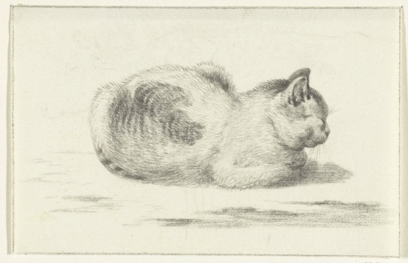 Seated Cat, Jean Bernard