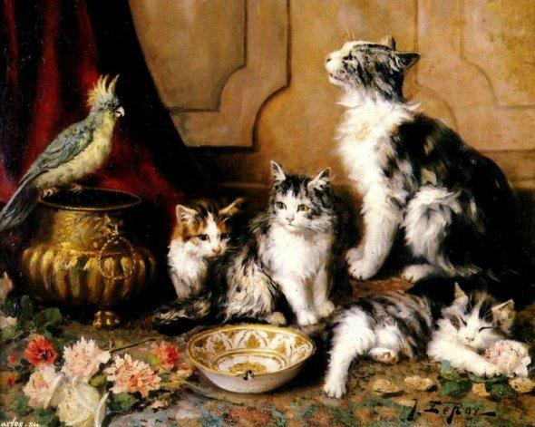 Jules Gustave Le Roy, Brave Bird