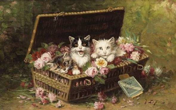 Jules Gustave Le Roy, A Surpise Delivery