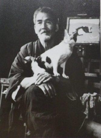 Kumagai and blind cats 1950s