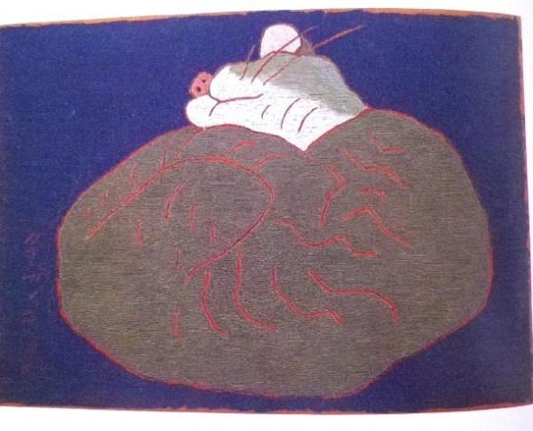 Morikazu Kumagai, Sleeping Cat1959-2