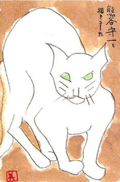 Morikazu Kumagai, White Cat