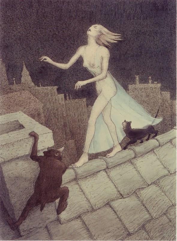 Theophile Steinlen, Cats 1900-