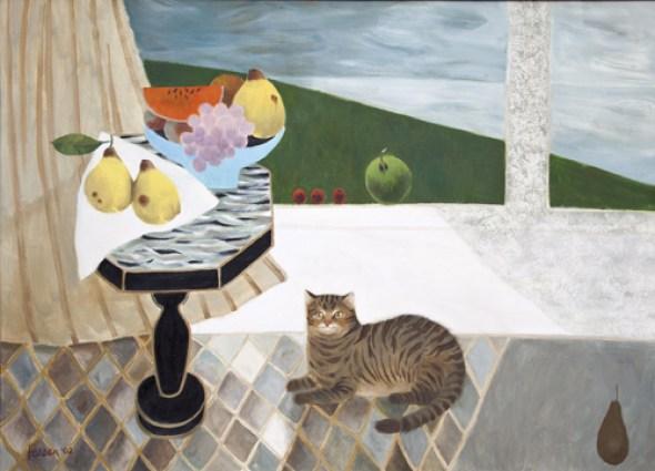 Cat, Mary Fedden