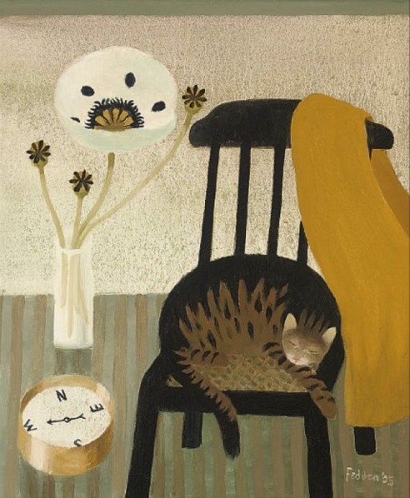 Cat on a Chair, Mary Fedden