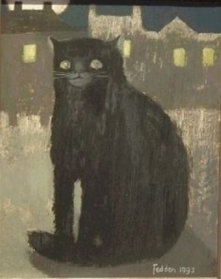 Mary Fedden, Black Cat