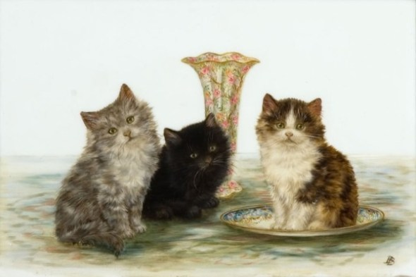Three Kittens, Bessie Bamber