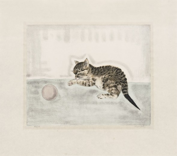 Tsuguharu Foujita, Les Chats, 1930.