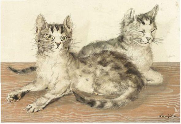 Two Cats, Foujita