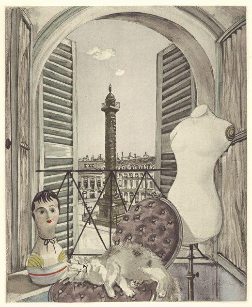 Vendôme, 1951, Leonard Foujita