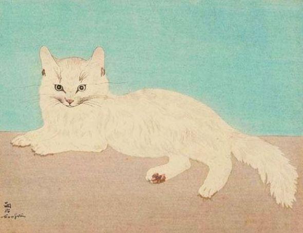 White Cat, Tsugouharu Foujita