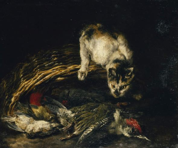 Jan Fyt Cat and Dead Game