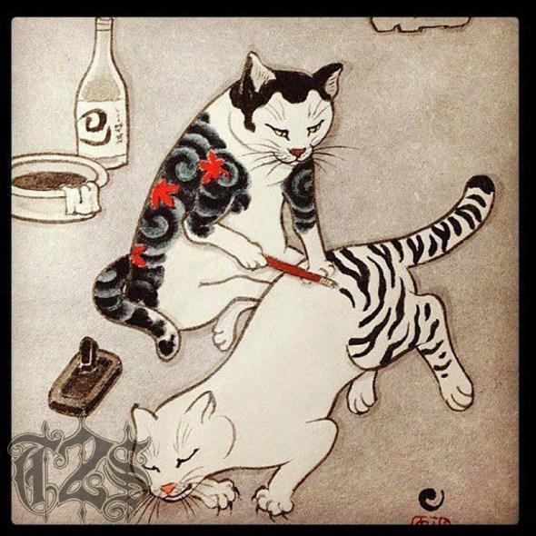Kazuaki Horitomo Kitamura, Monmon Cats 30