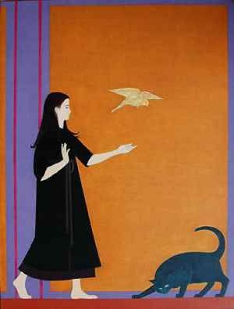 Will Barnet, Youth, 1970, Oil on canvas
