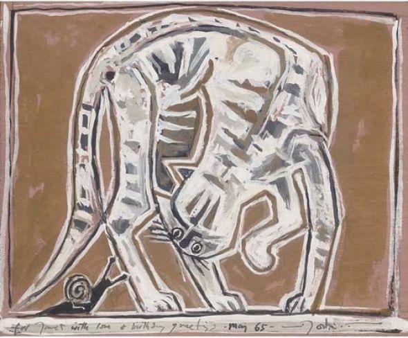 Cat and Snail John Craxton, 1965