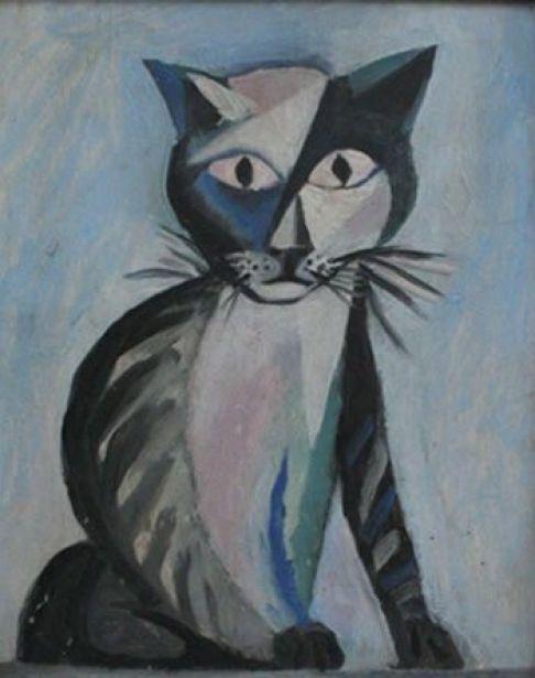 3-John Craxton (1922 -2009) - Marco the Cat, 1948