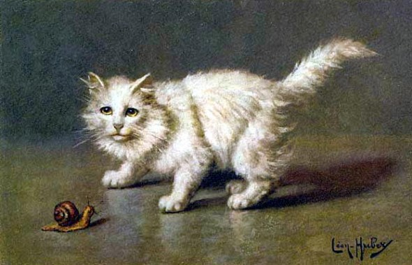 White Cat, Leon Charles Huber