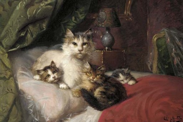 -A proud mother - Leon Charles Huber