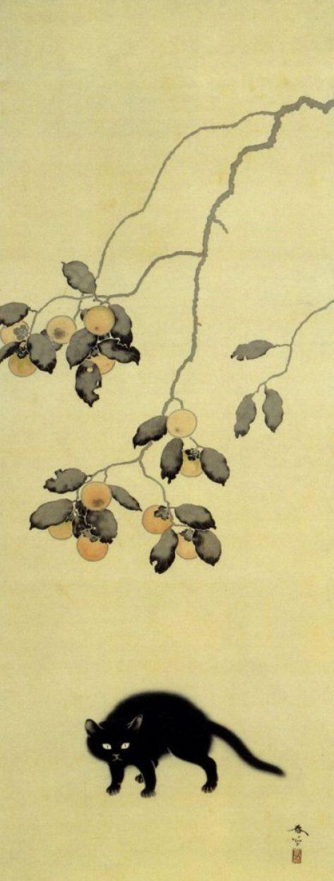 Black Cat Hishida Shunso, 1910