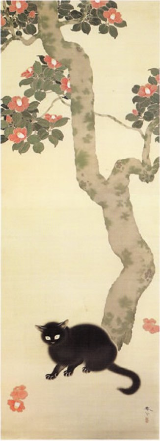 Black Cat and Tree, Hishida Shunso