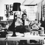Cary Grant and cat, famous cat lovers