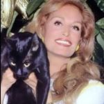 Dalida and cat, famous cat lovers