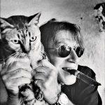 Jacques Dutronc and cat, famous cat lovers