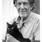 John Cage and cat