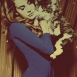 Lana del Rey and cat, famous cat lovers