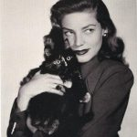 Lauren Bacall, famous cat lovers