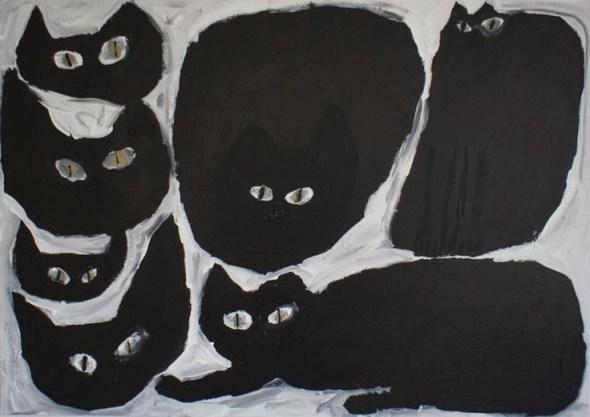 Miroco Machiko, Black Cats