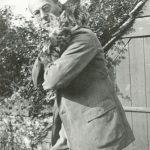 Arthur Rackham and cat