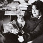 Elizabeth McCracken (Ecrivain) and cat