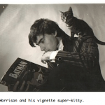 Grant Morrison and kitty