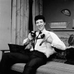 Tom Jones and siamese cats