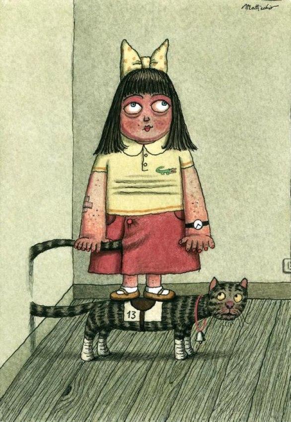 19-Franco Matticchio, Cat Cartoons