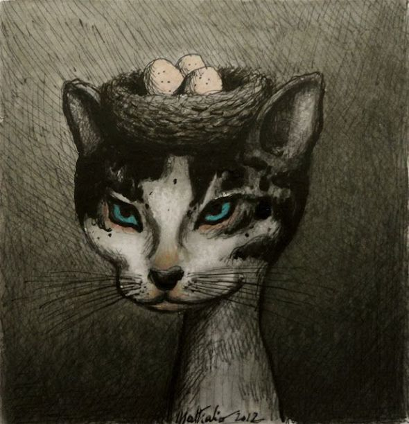 5- Franco Matticchio-Cat Cartoon