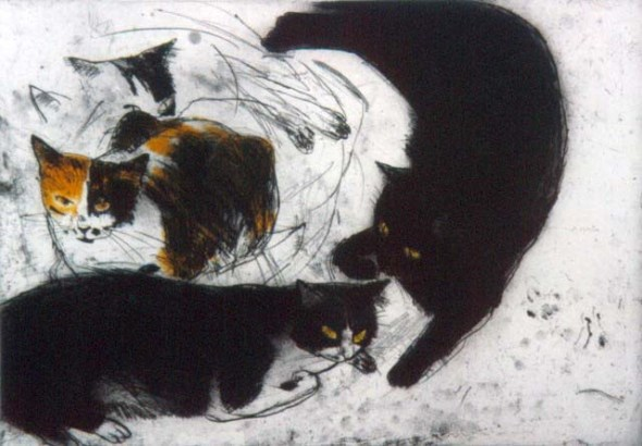 Studies of Fred, Elizabeth Blackadder