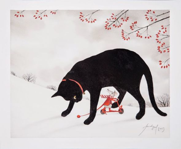 Feridun Oral, Black Cat and Mouse