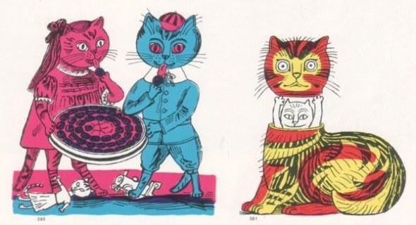 Edward Bawden, Cat Illustrations