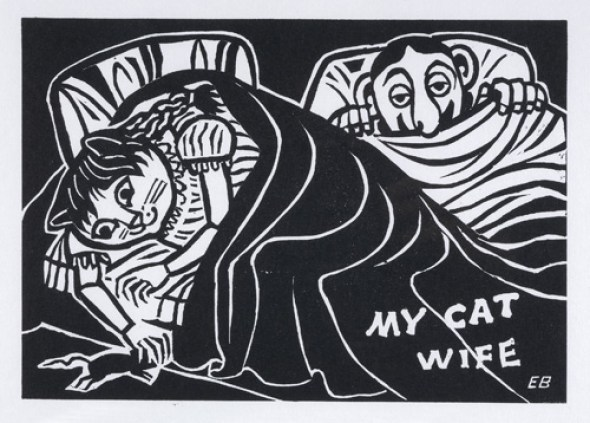My Cat Wife, Edward Bawden