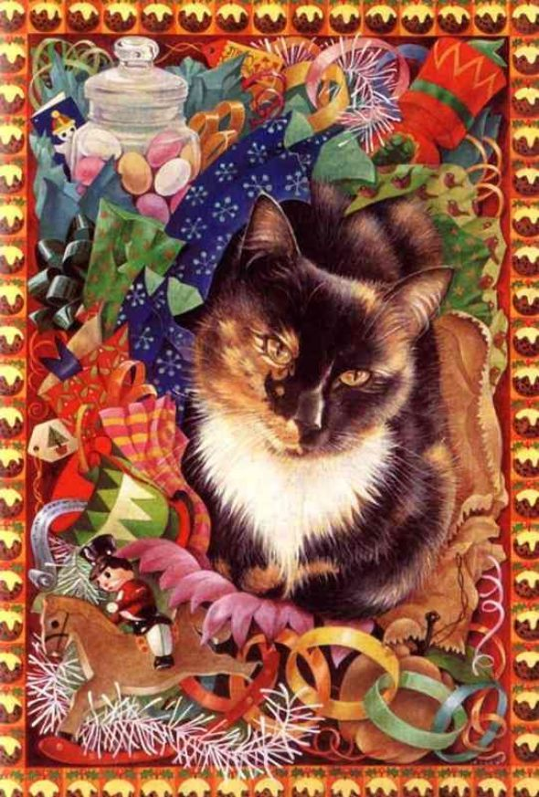 12-Leslie Anne Ivory, Christmas Cats