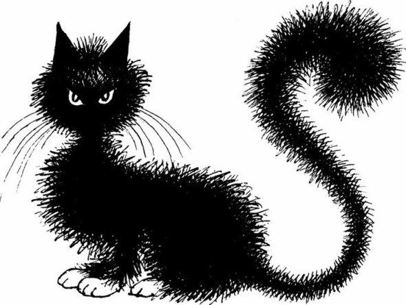 Albert Dubout, Black Cat