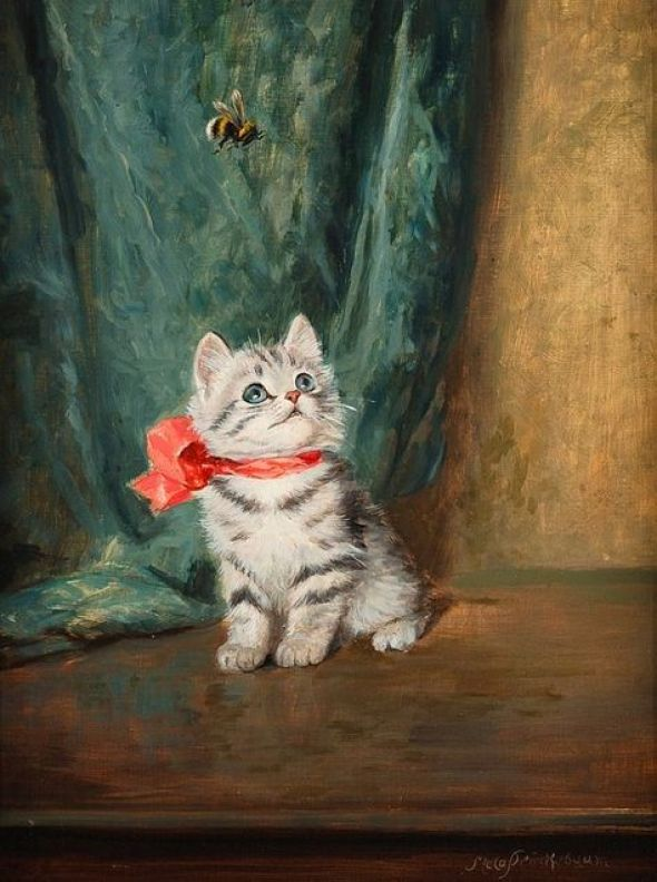 Meta Pluckebaum, Kitten and Bee