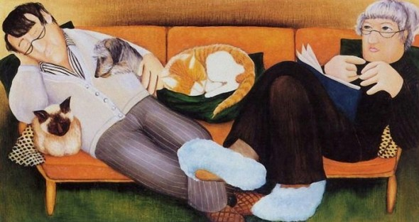 Beryl Cook, Couch Potatoes